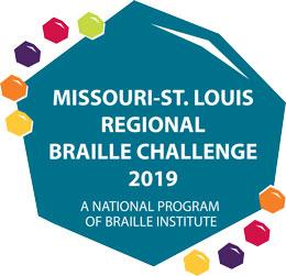 Missouri-St. Louis Regional Braille Challenege 2019 - A National Program of Braille Institute