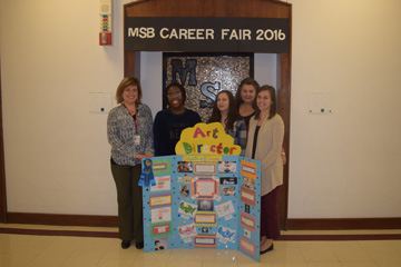 MSB Career Fair 1st place team 2
