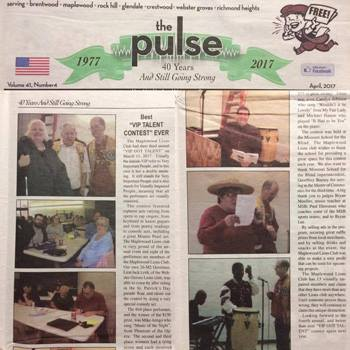 MSB mules in the Brentwood Pulse newspaper