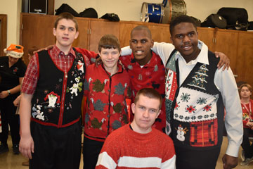 MSB students prepare for Christmas Extravaganza performance