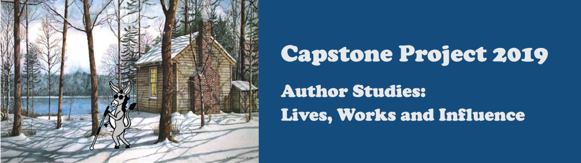 Capstone Project 2019, Author studies: Lives and Influence