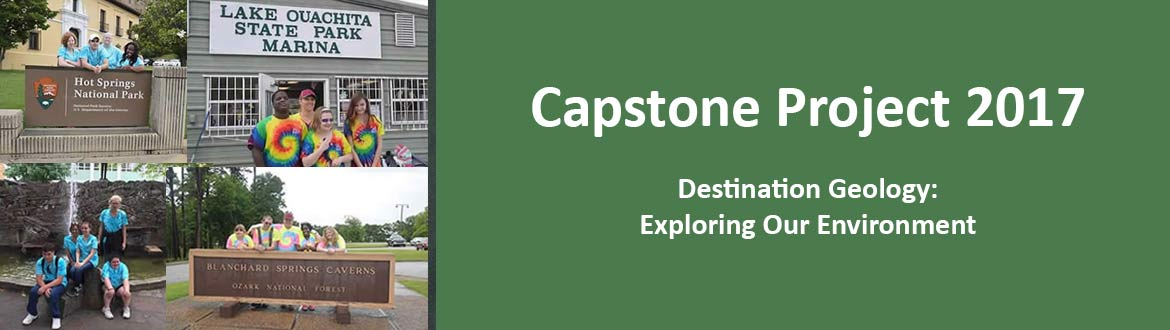 Capstone Project 2017 - Destination Geology: Exploring Our Environment